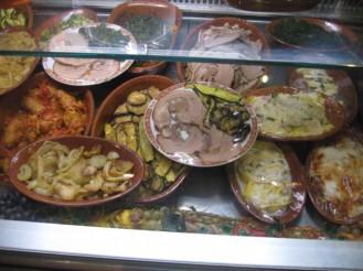 Fraschetteria Brunetti restaurant has genuine roman food