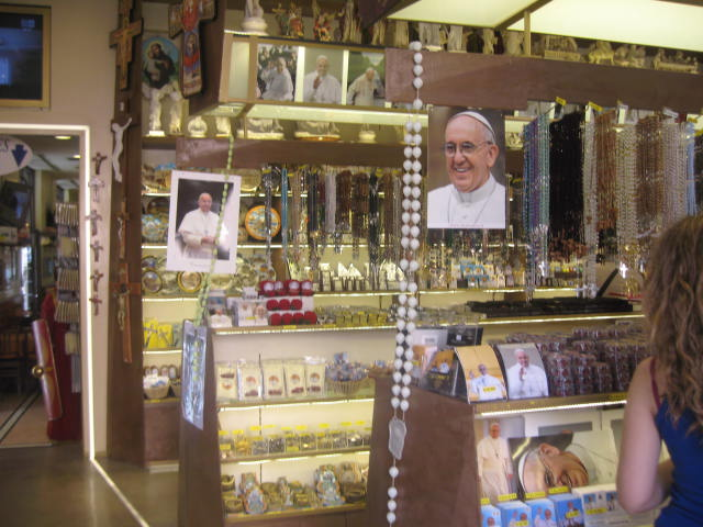 Shopping In The Vatican City