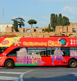 City Sightseeing Rome Italy