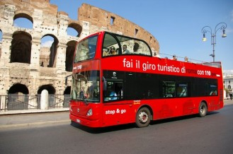 110 open Bus Tours
