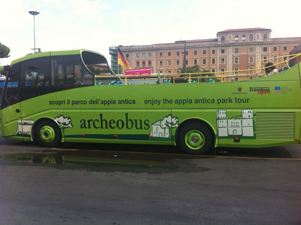 Archeobus Tour Bus Rome