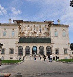 Galleria Borghese consists of twenty rooms across two floors