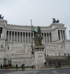 Vittorio Emmanuele II Monument is one of the newest monuments in Rome