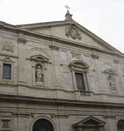 Church of San Luigi dei Francesi is located real close to the Pantheon and Piazza Navona