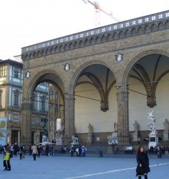 Replace Loggia dei Lanzi Florence
