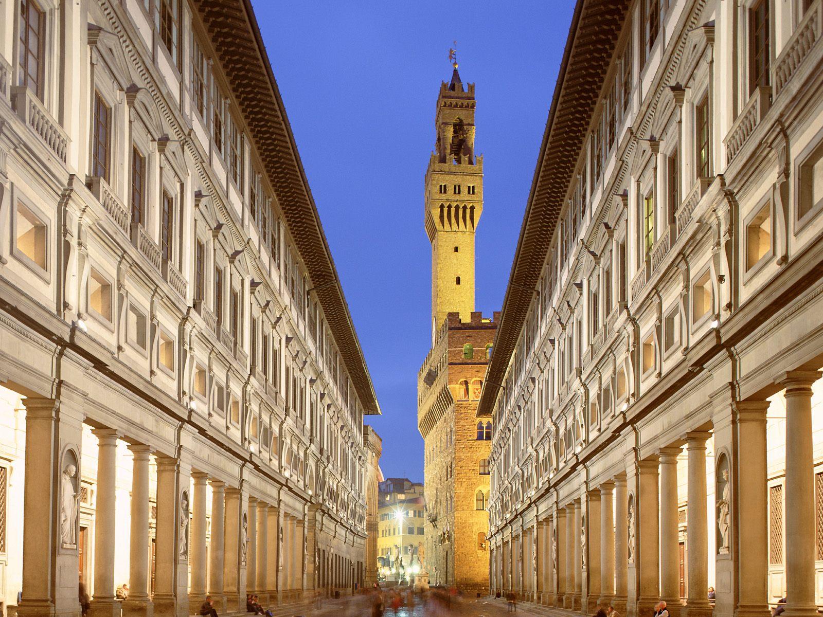 Italian Florence: Uffizi Gallery