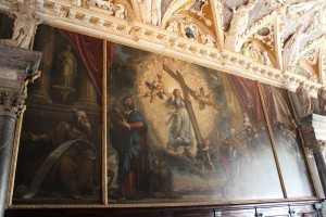 Art work in the Doge's Palace