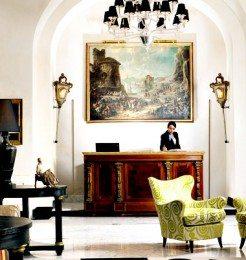Hotel Punta Tragara Capri Loby