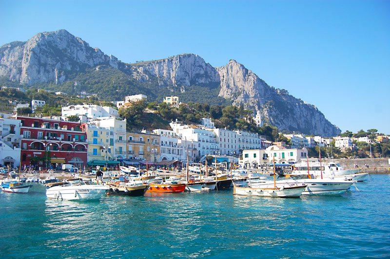 Marina Grande Capri Italy