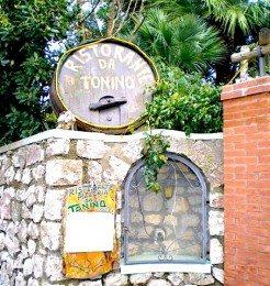 Ristorante Da Tonino Capri Italy