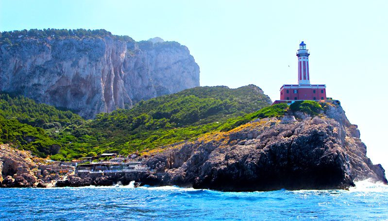 punta carena lighthouse capri Italy