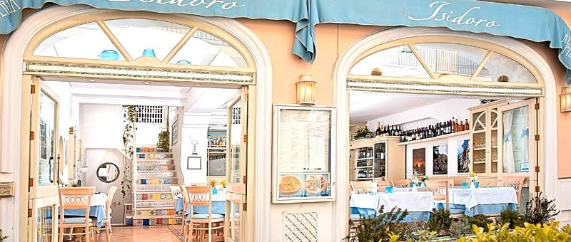 Isidoro Restaurant Capri