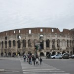 The Colosseum is one of the most famous attractions