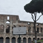 The ancient Colosseum