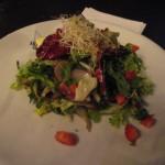 Salad at Dukes Restaurant Rome