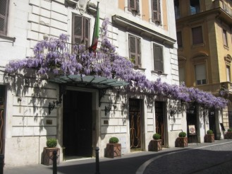 Hotel Locarno is a fantastic place to have drinks in Rome