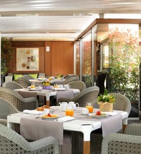 Breakfast in Hotel Babuino 181 Rome
