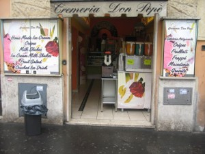 Cremeria Don Pepè-Via S. Giovanni in Laterano, 40 - Rome
