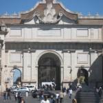 """""""Porta del Popolo"""" at Piazza del Popolo Rome"""