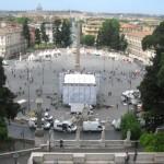 Pincio Hill - Piazza del Popolo - Rome