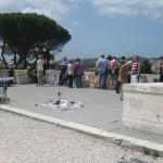 Pincio hill on top of Piazza del popolo