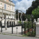 Casina Valadier is a restaurant next to Villa Borghese park