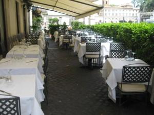 Dal Bolognese restaurant - Piazza del Popolo 2 - 00187 Rome
