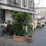 Ristorante Rosati has an outside seating facing the Piazza del Popolo