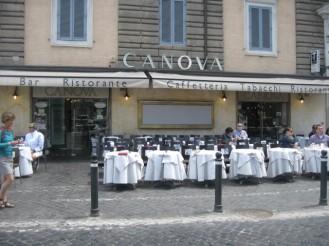 Restaurant-Cafe'-Bar Canova Piazza del Popolo, 16 – 00187 Roma