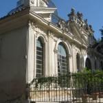 Beautiful structures inside Villa Borghese park