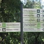 Dogs are allowed inside Villa Borghese park