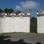 History inside Villa Borghese park