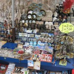 Many souvenir articles to choose from