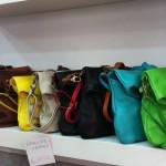 Italian leather shops near the Colosseum Rome