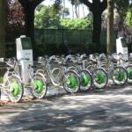 Rent bikes at Villa Borghese Park
