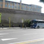 Vatican bus stop