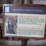 St. Peter's tomb Vatican City