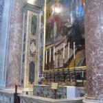 Inside St. Peter's Basilica Vatican