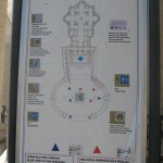 a map of St. Peter's Square