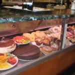 S. Anna Cafeteria near the Vatican City gives you a good choice of foods