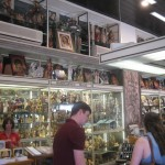 Galleria Savelli is one of the biggest religious souvenir shops in Rome