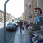 Shopping near the Vatican City Rome