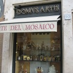 Domus Artis is specialized in mosaic near the Vatican