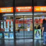 Travel agency named 365 right next to Platform number 44