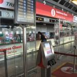 Ticket dispenser Termini train station