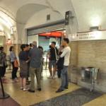 Metro ticket office in Metro area