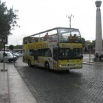 Many Christian tourists choose the Roma Cristiana tour buses