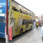 Roma Cristiana tour buses are a great way to see Rome