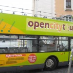 Open City Tour Bus in the eternal city