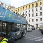 Open bus tours around Rome